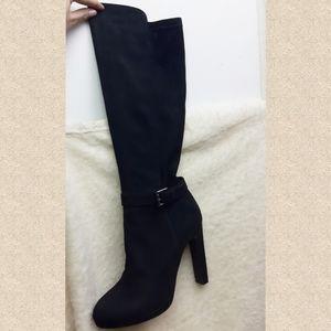 Super high heels knee high sexy boots